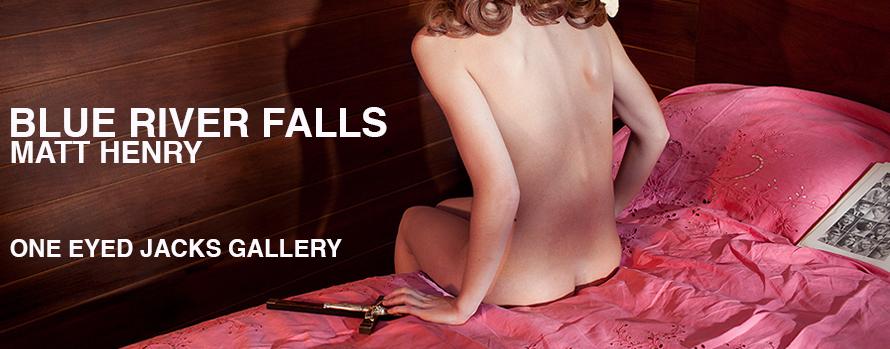 Blue River Falls showcases the work from photographer Matt Henry