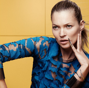 fiftyfiveuploads - ELEVENPARIS with KATE MOSS for SS14