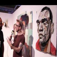 fiftyfivetv - Moniker art fair 2014: Matthew Small